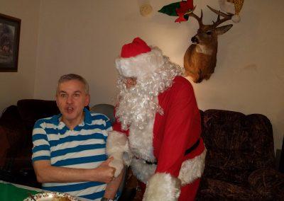 Santa and Shane